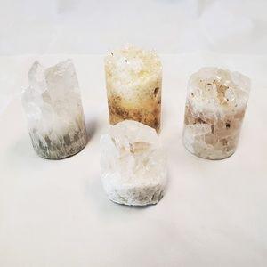Jewelry - Crystal-Alter Desk Clear Quartz Cylinder Crystal